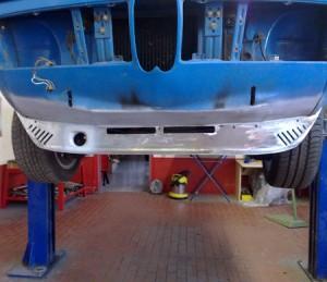 BMW 2000tii blau - Restauration