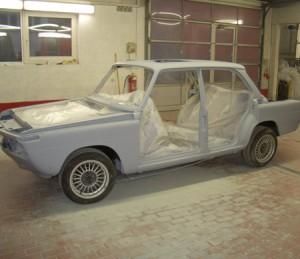 BMW 2000tii - Grundierung