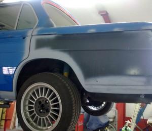 BMW 2000tii - Lackierung