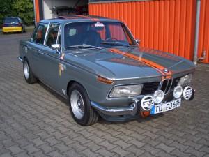 BMW 2000 tii - Laclierung