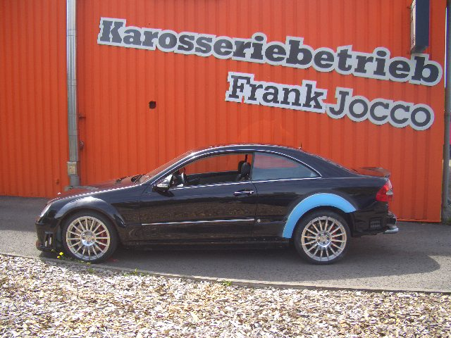 Umbau CLK W209 black series