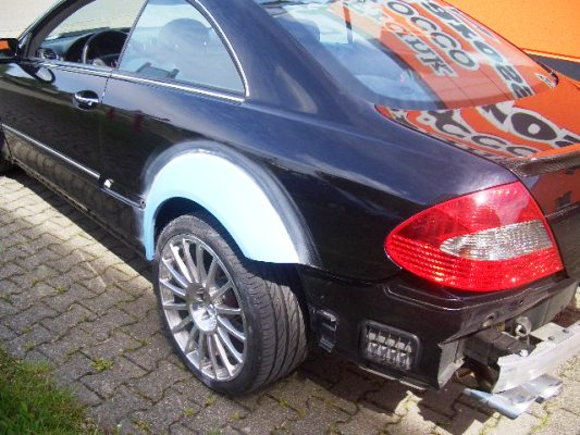 Tuning CLK W209 black series