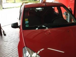 Dacia - Karosserieschaden - danach