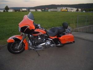 Harley-Davidson Lackierung