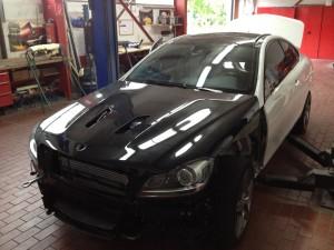 Umbau Mercedes C63